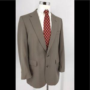 Donald Brooks Brown Suit Coat Blazer  sz 41S